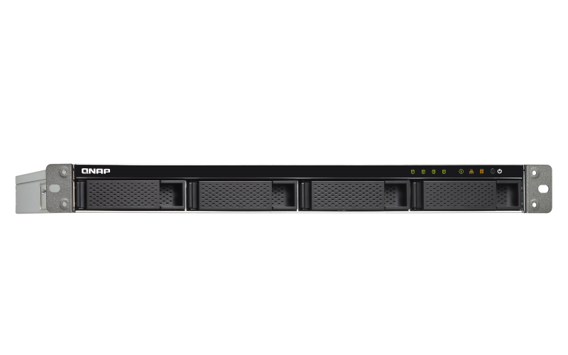 "Сетевое оборудование QNAP Сетевой RAID-накопитель Qnap TS-432XU-RP-2G, 4 отсека 3,5""/2,5"", 2 порта 10 GbE"
