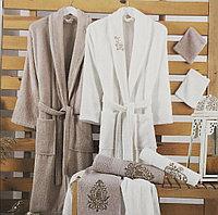 Хлопковые халаты в семейном наборе