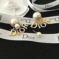 Серьги Dior