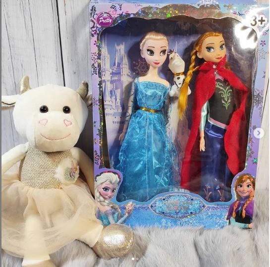 """Набор 2 кукол в подарочной упаковке """"Анна и Эльза"""""""