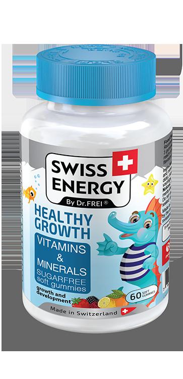 Swiss Energy детские витамины и минералы (Multivit Kids)