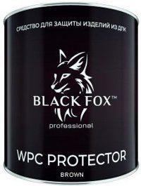 Масло-краска Black Fox Protector для террасной доски ДПК