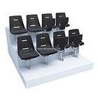 Стационарное пластмассовое сиденье СН01, фото 3