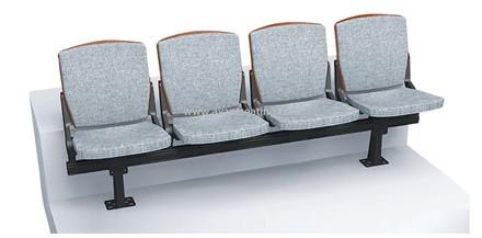 Стационарное пластмассовое сиденье СН02