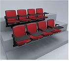 Стационарное полумягкое сиденье СН02, фото 3