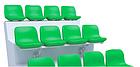 Стационарное пластмассовое сиденье СН04, фото 2