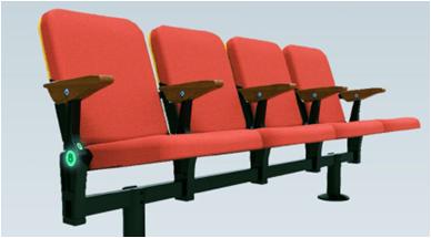 Стационарное пластмассовое сиденье СН06