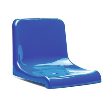 Стационарное пластмассовое сиденье