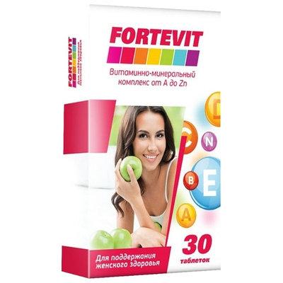 Fortevit для женщин.Витаминно-минеральный комплекс от А до Цинка 60 таб