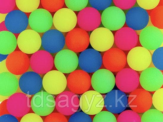 """Мячи 25 мм """"25TDS08 Неоновый шейк"""" (100 шт в уп)"""