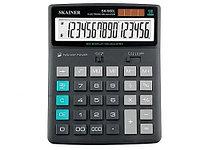 "Калькулятор настольный SKAINER ""900L"" 16 разрядный серый"