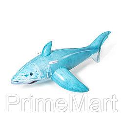 Надувная игрушка Bestway 41405 в форме акулы для плавания