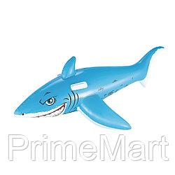 Надувная игрушка Bestway 41032 в форме акулы для плавания
