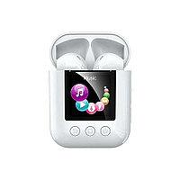 Беспроводные наушники c встроенным MP3 плеером и памятью 8гб Remax TWS-19 Bluetooth 5.0 (White)