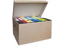 """Архивный короб OfficeSpace """"Делопроизводство"""" (480x325x295 мм, микрогофрокартон)"""