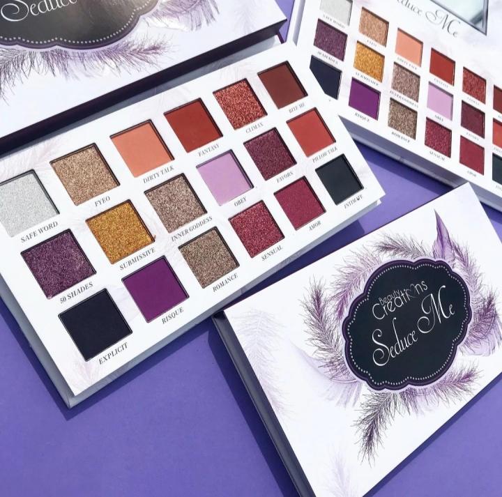 Тени для глаз Beauty Creations SEDUCE ME (18 цветов)