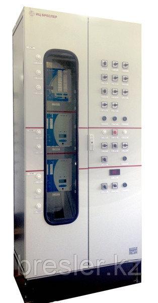 Шкаф автоматики управления регулятором напряжения трансформатора и автотрансформатора под нагрузкой 35-110 кВ