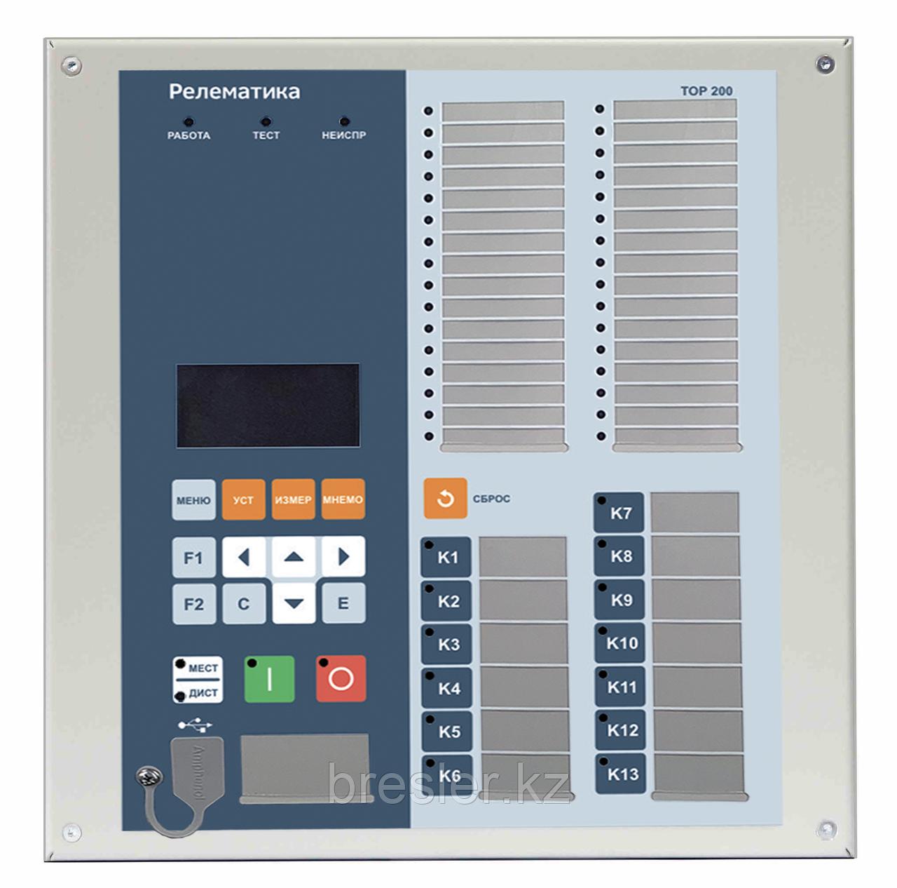 Комплектное устройство РЗА 6(10)-35 кВ типа «ТОР 200-16»