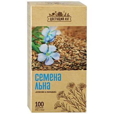 "Семена льна ""Цветущий луг"" 100 гр"
