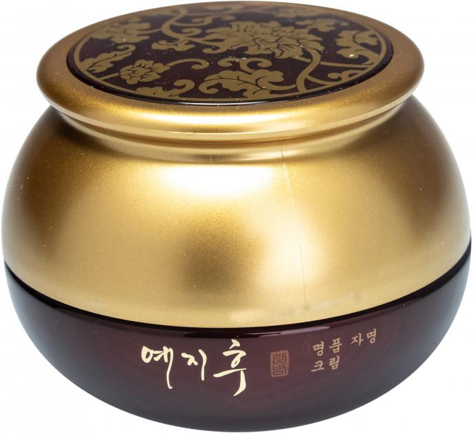 Инновационный крем от морщин Yezihu Red Ginseng Cream с гиалуроновой кислотой, экстрактом женьшеня и маслом ши