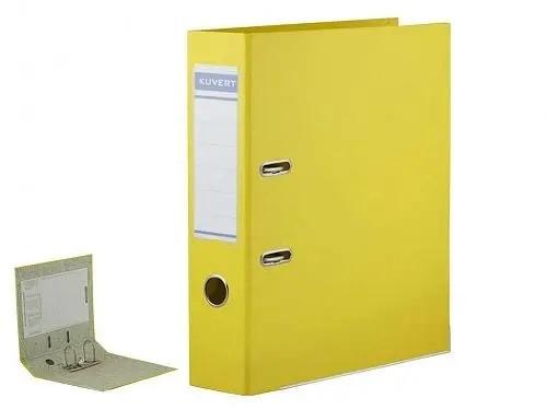 Папка-регистратор KUVERT А4 (ширина корешка 50 мм, желтая)