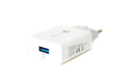 Сетевой USB адаптер Samsung AR-30, 1x USB, Qualcomm QC  3.0, для мощных устройств