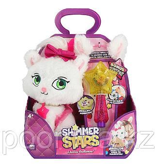 Плюшевый котенок 20 см SHIMMER STARS