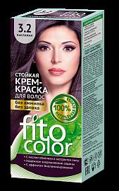 """Стойкая крем-краска для волос серии """"Fitocolor"""" 3.2 (цвет баклажан)"""