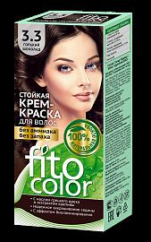 """Стойкая крем-краска для волос серии """"Fitocolor"""" 3.3 горький шоколад"""