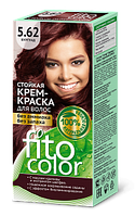 """Стойкая крем-краска для волос серии """"Fitocolor"""" 5.62 цвет бургунд"""