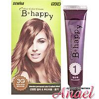 Sewha Интенсивная крем-краска для волос с эффектом ламинирования 2G молочный золотисто-коричневый   B-Happy