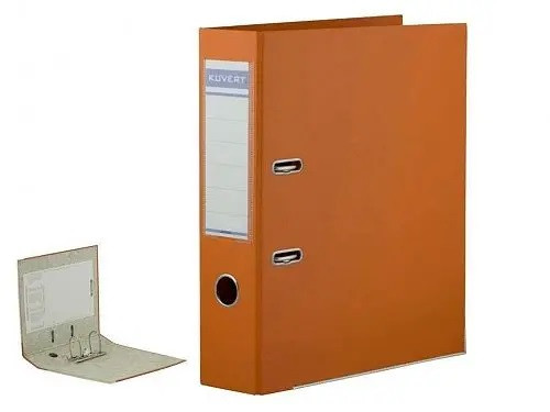 Папка-регистратор KUVERT А4 (ширина корешка 72 мм, оранжевая)