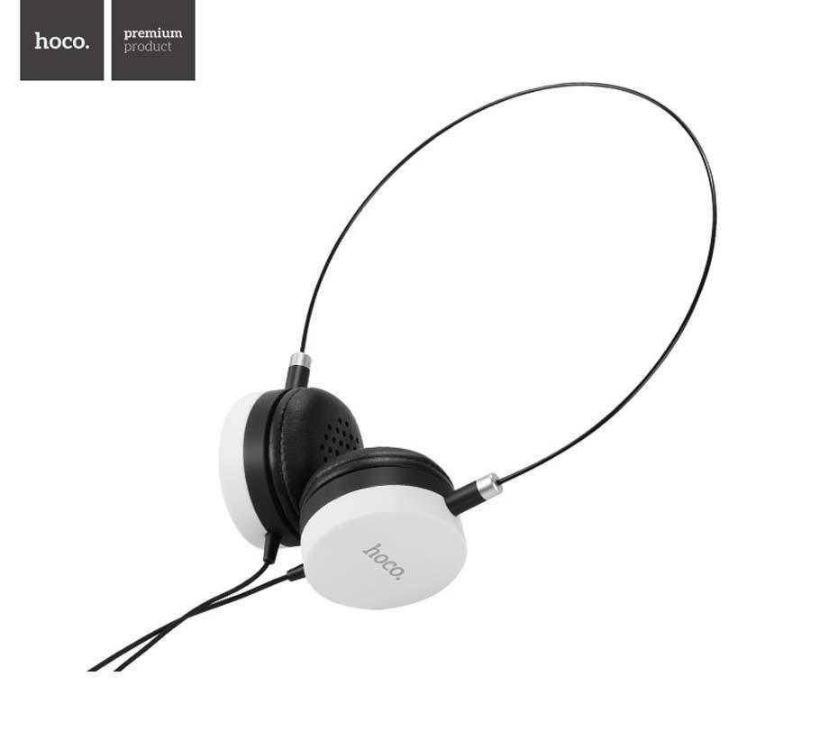 Гарнитура Hoco W3 Headphones White/Black