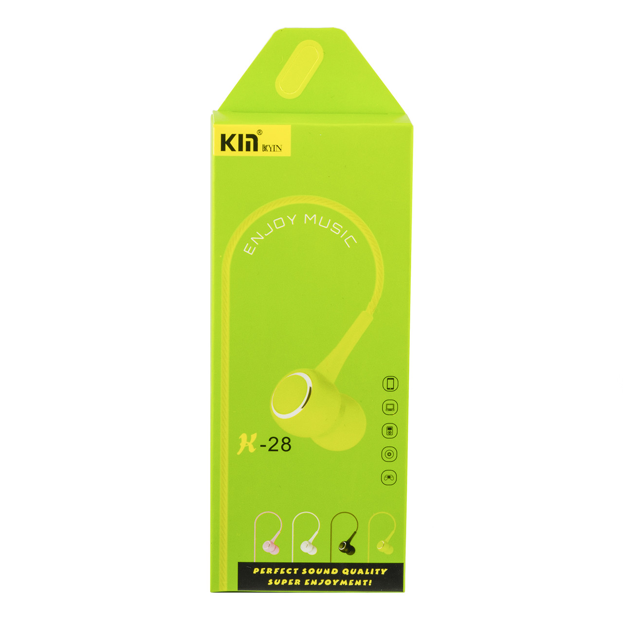 Гарнитура Kin K-28, Green