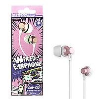 Гарнитура Remax RM-512 Wired music Pink