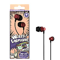 Гарнитура Remax RM-512 Wired music Red