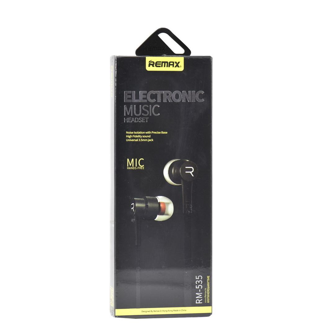 Гарнитура Remax RM-535 Electronic music COPY Black