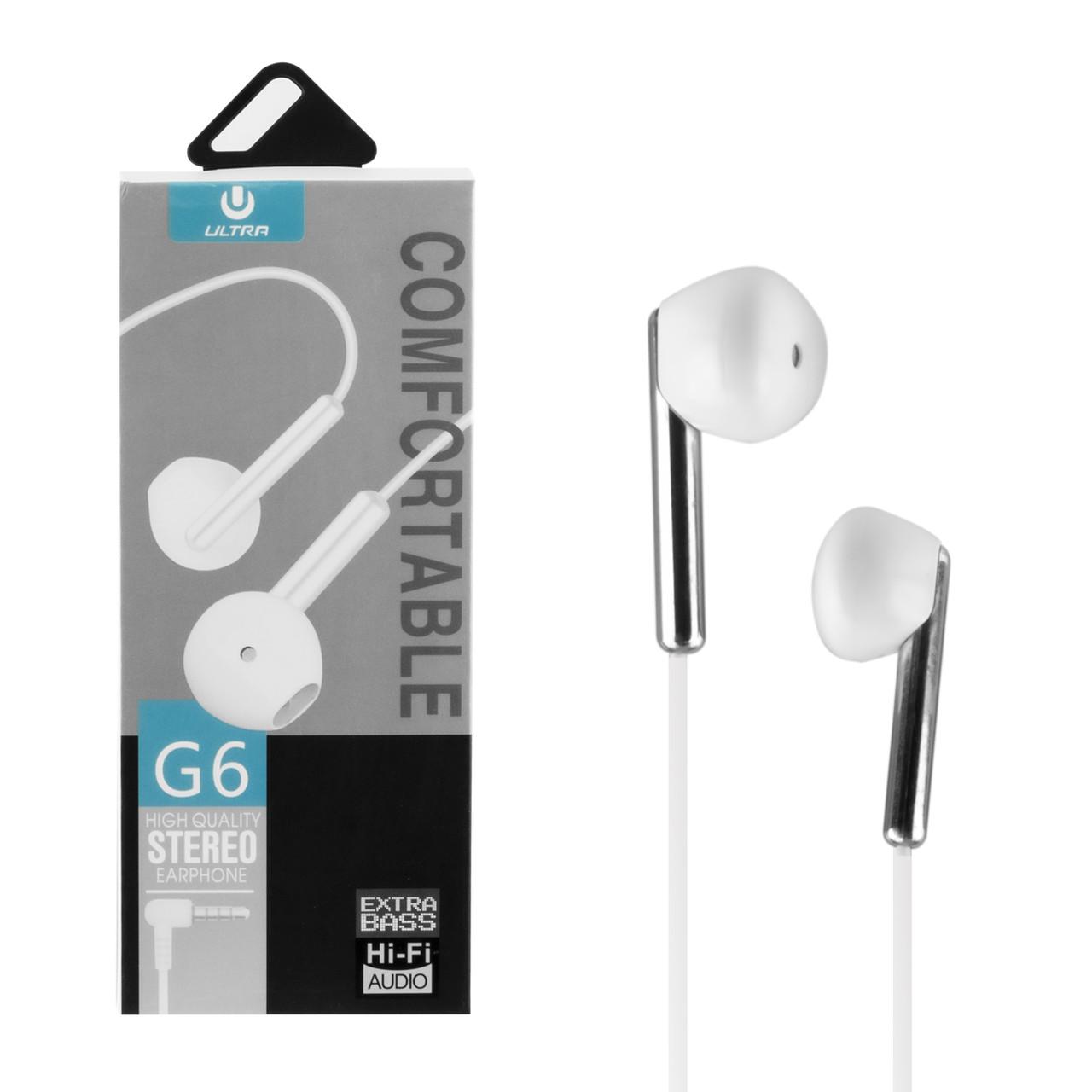 Гарнитура Ultra G6, White
