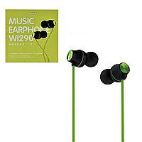 Гарнитура WK Desing Wi290 Music Earphone , Green
