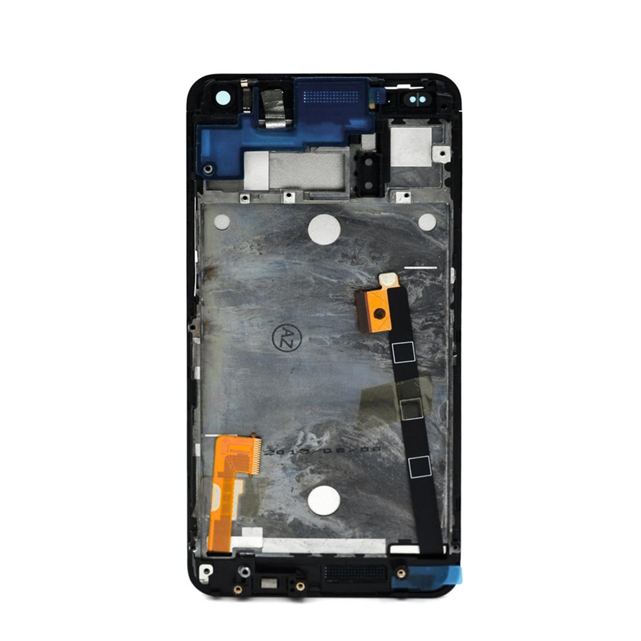 Дисплей HTC One Dual Sim в сборе с рамкой Black (31)