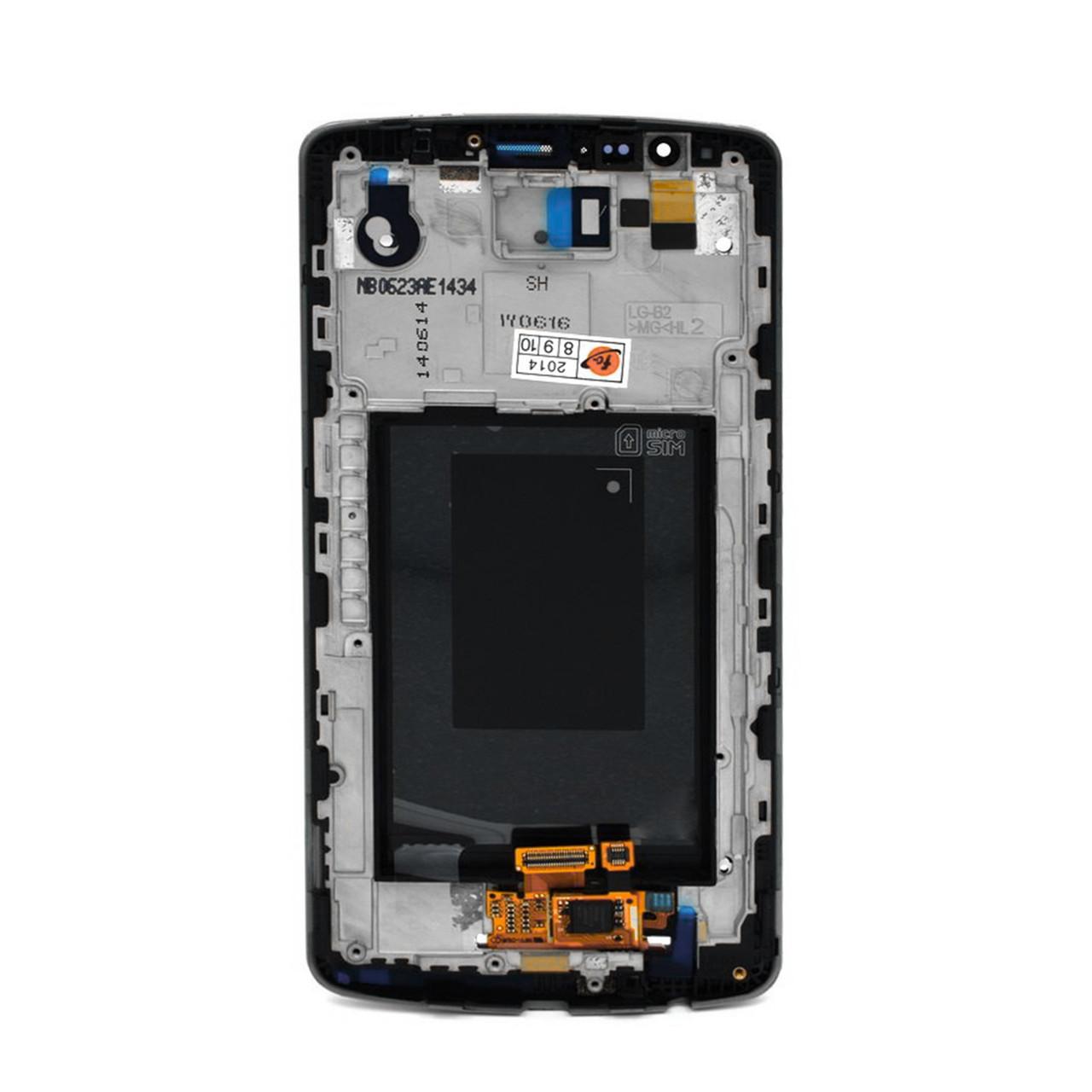 Дисплей LG G3 D855 в сборе с рамкой Black (32)