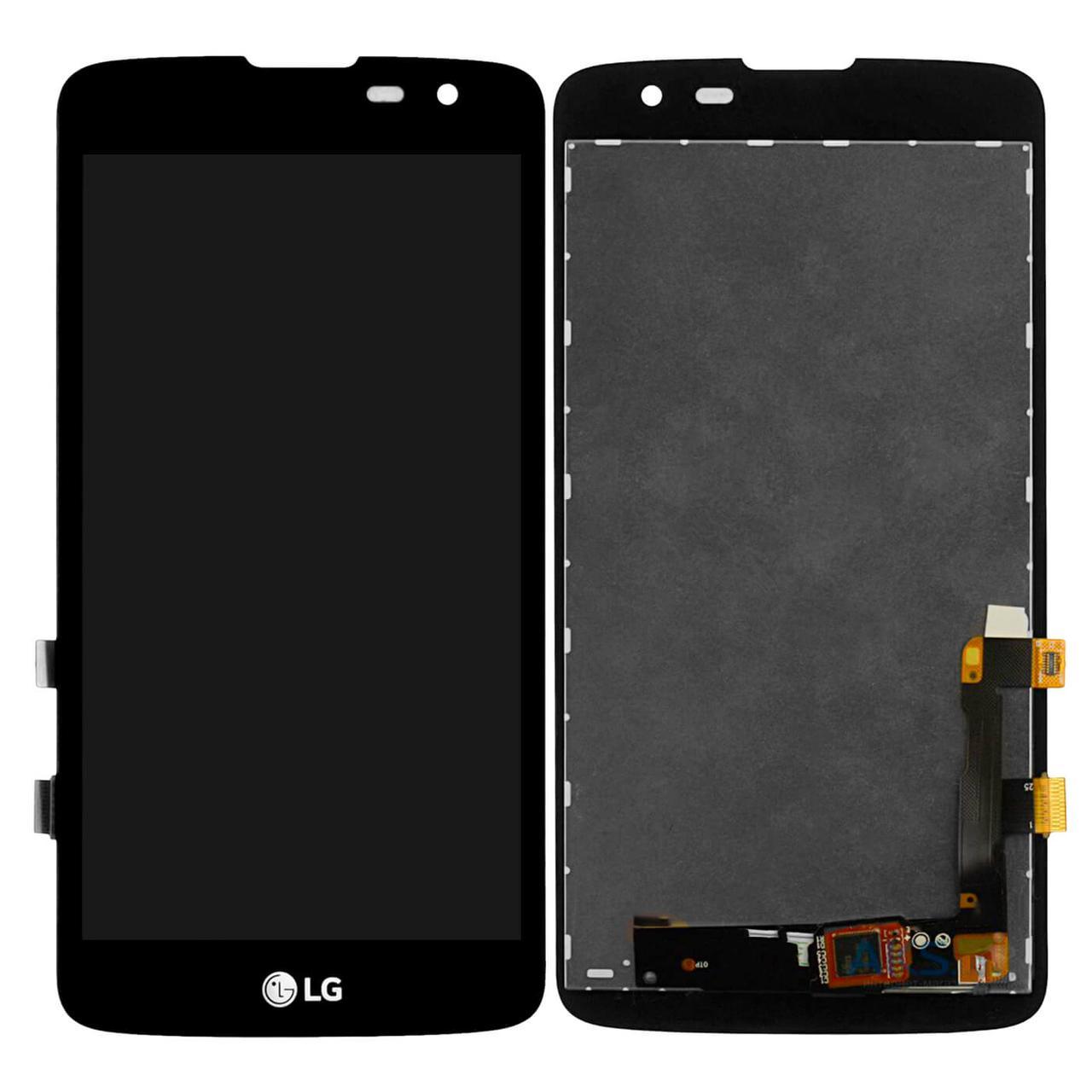 Дисплей в сборе для LG Q7, black