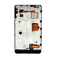 Дисплей Nokia Lumia N900 в сборе с рамкой Black Original (30)