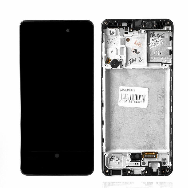 Дисплей Samsung Galaxy A31 A315 в сборе Service Pack, Black