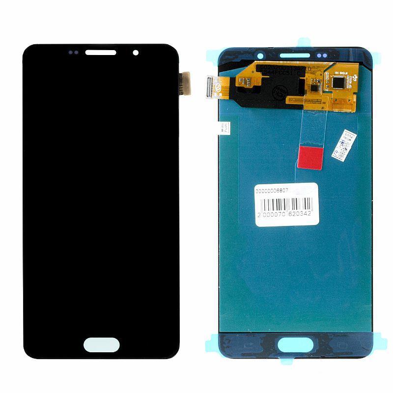 Дисплей Samsung Galaxy A7 (2016) A710 Oled в сборе Black (24)