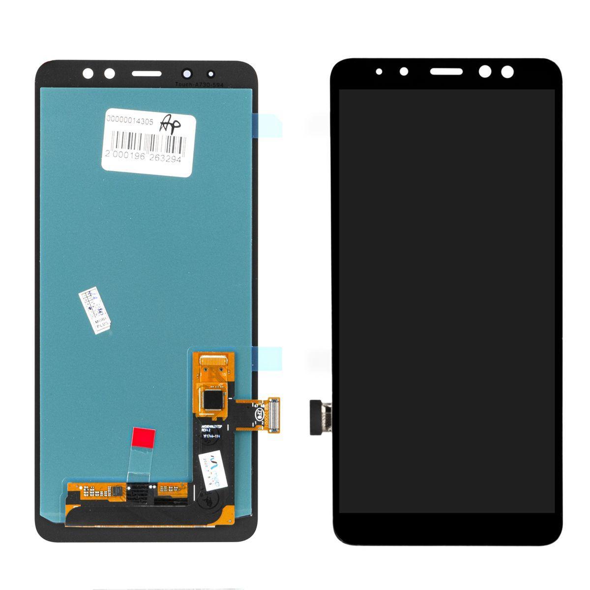 Дисплей Samsung Galaxy A8 Plus (2018) A730 в сборе Black