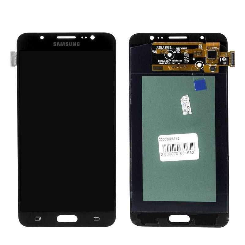 Дисплей Samsung Galaxy J7 J710 (2016) Oled в сборе Black (27)