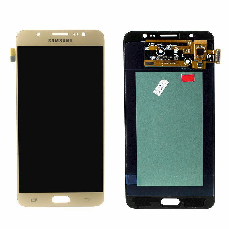 Дисплей Samsung Galaxy J7 J710 (2016) Oled в сборе Gold (27)