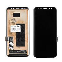 Дисплей Samsung Galaxy S8 G950 Original восстановленный в сборе Black (23)