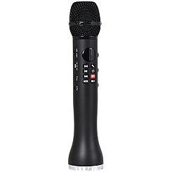 Микрофон-Колонка L-698 Black